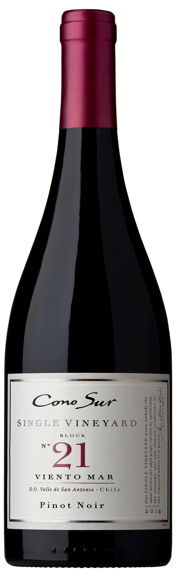 Cono Sur Single Vineyard Block 21 Pinot Noir 2016