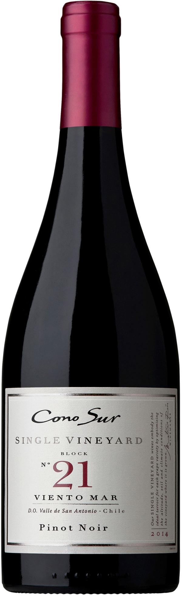 Cono Sur Single Vineyard Block 21 Pinot Noir 2017