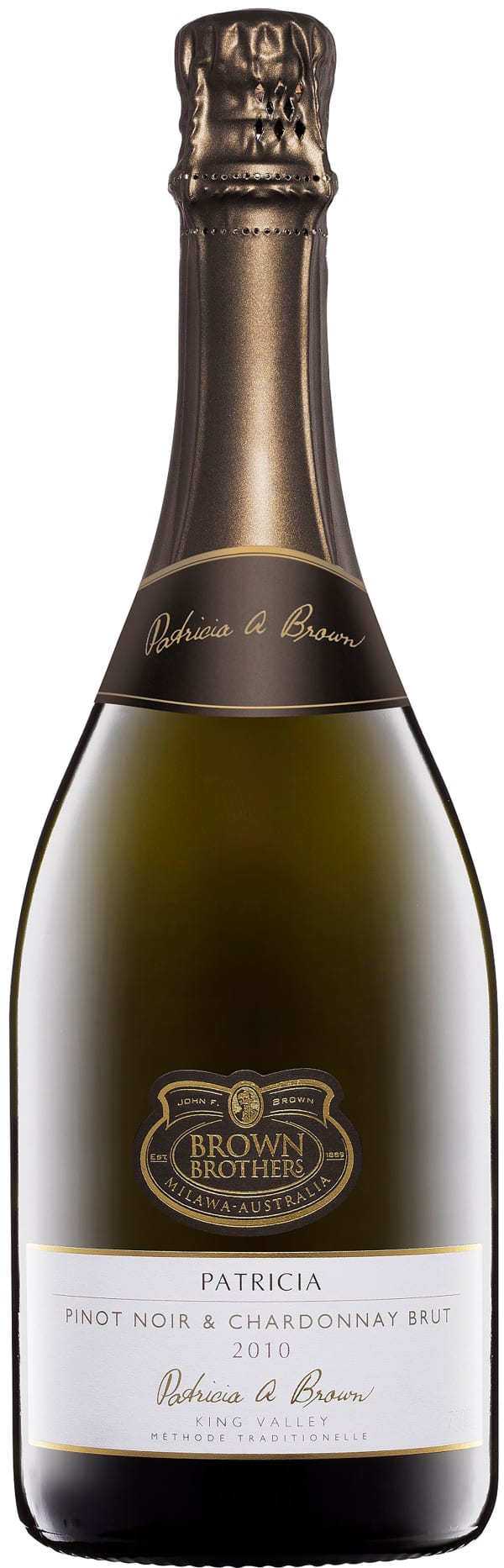 Brown Brothers Patricia Pinot Noir Chardonnay Brut 2010