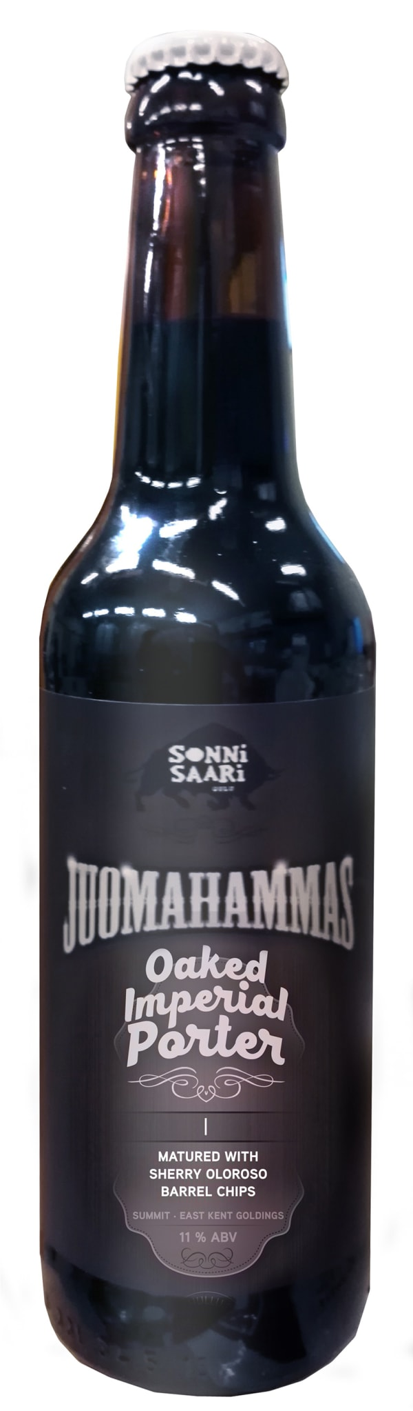 Juomahammas Oaked Imperial Porter I Matured With Sherry Oloroso Barrel Chips