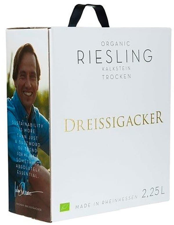 Dreissigacker Organic Riesling 2019 bag-in-box