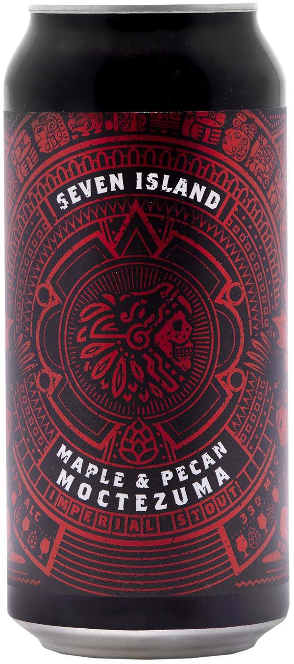Seven Island Moctezuma Maple Pecan burk