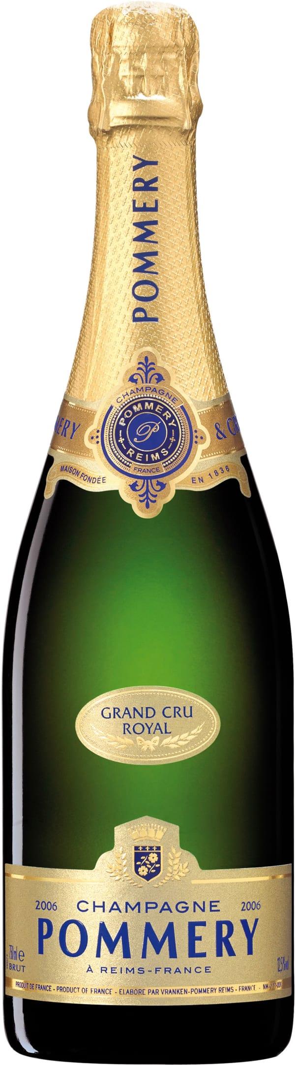 Pommery Grand Cru Royal Millesime Champagne Brut 2006