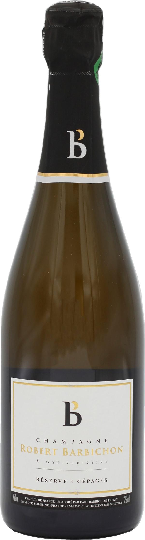 Robert Barbichon 4 Cepage Reserve Champagne Brut