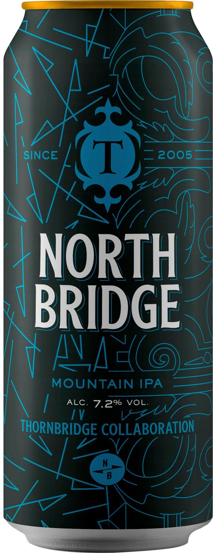 Thornbridge North Bridge Mountain IPA can