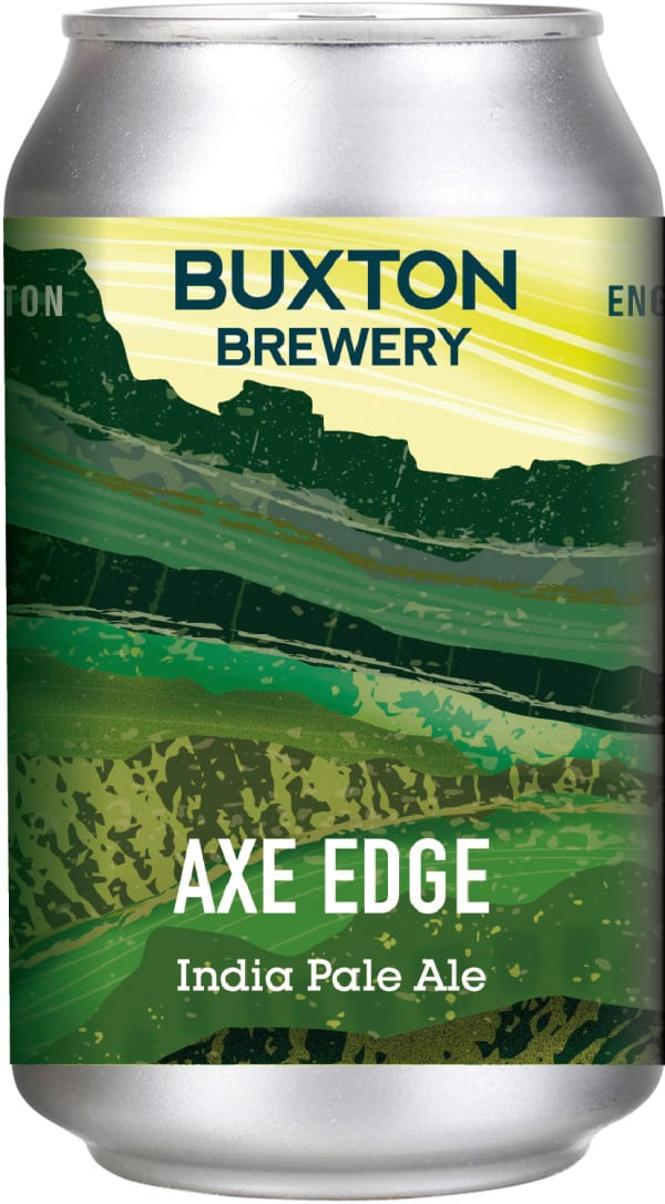 Buxton Axe Edge IPA burk