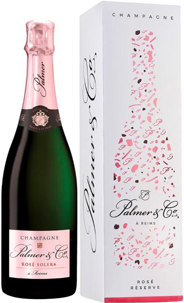Palmer & Co Rosé Réserve Champagne Brut