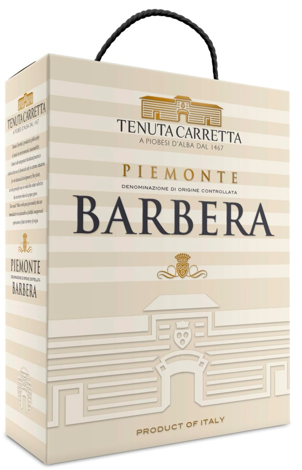 Tenuta Carretta Piemonte Barbera 2016 bag-in-box