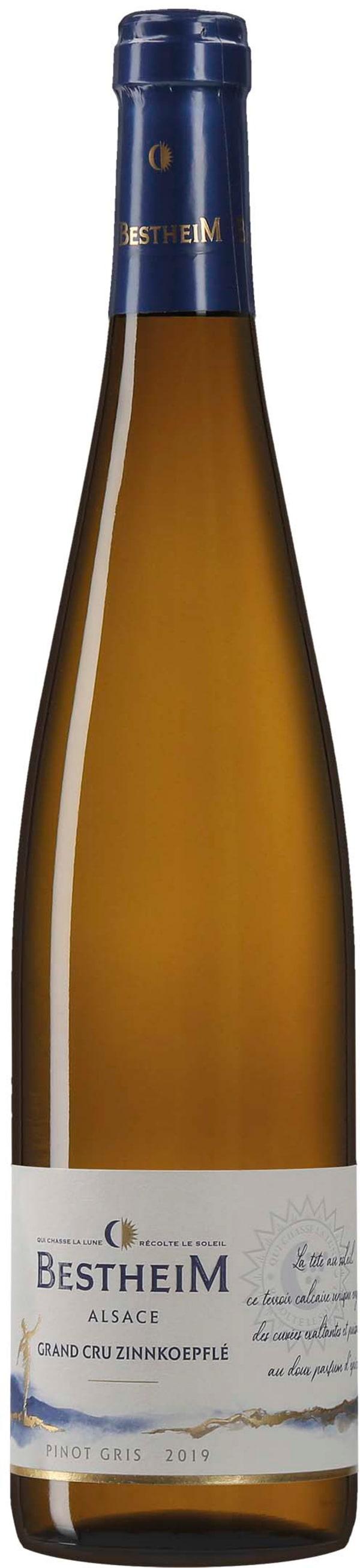 Bestheim Pinot Gris Grand Cru Zinnkoepfle 2015