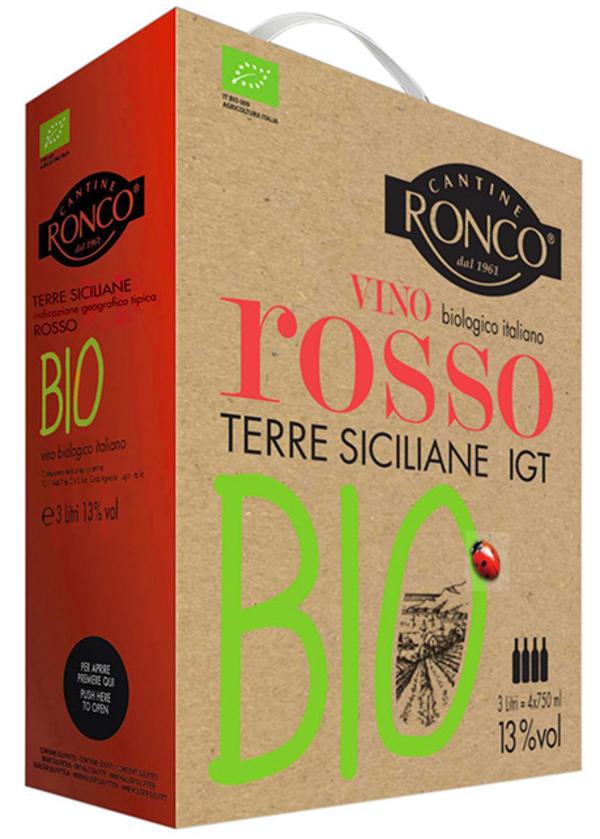Cantine Ronco Vino Rosso Bio hanapakkaus