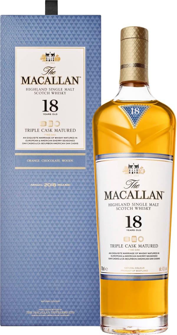 The Macallan Triple Cask 18 Year Old Single Malt