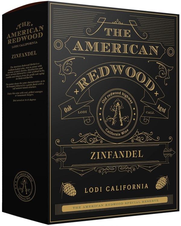 American Redwood Zinfandel 2018 lådvin