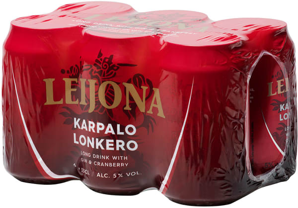 Leijona Karpalolonkero 6-pack can