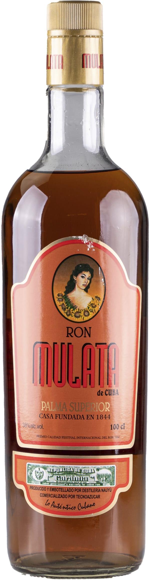 Ron Mulata de Cuba Palma Superior 38%
