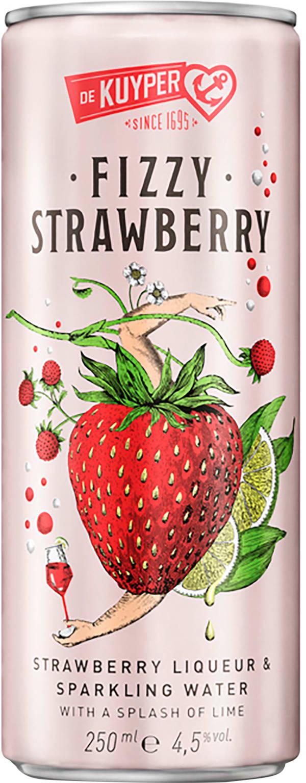 De Kuyper Fizzy Strawberry can