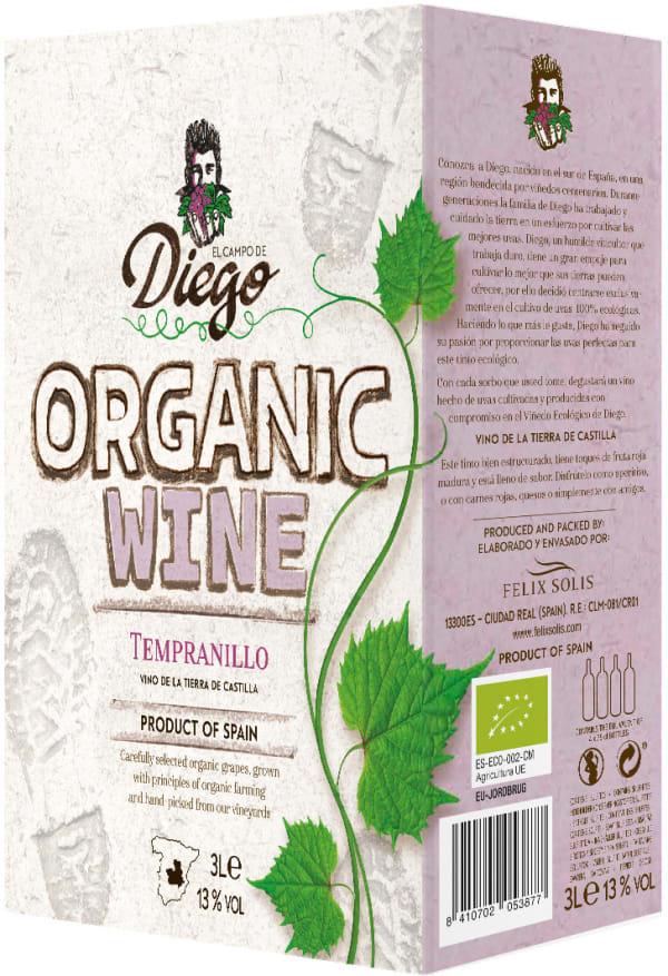 El Campo de Diego Organic lådvin