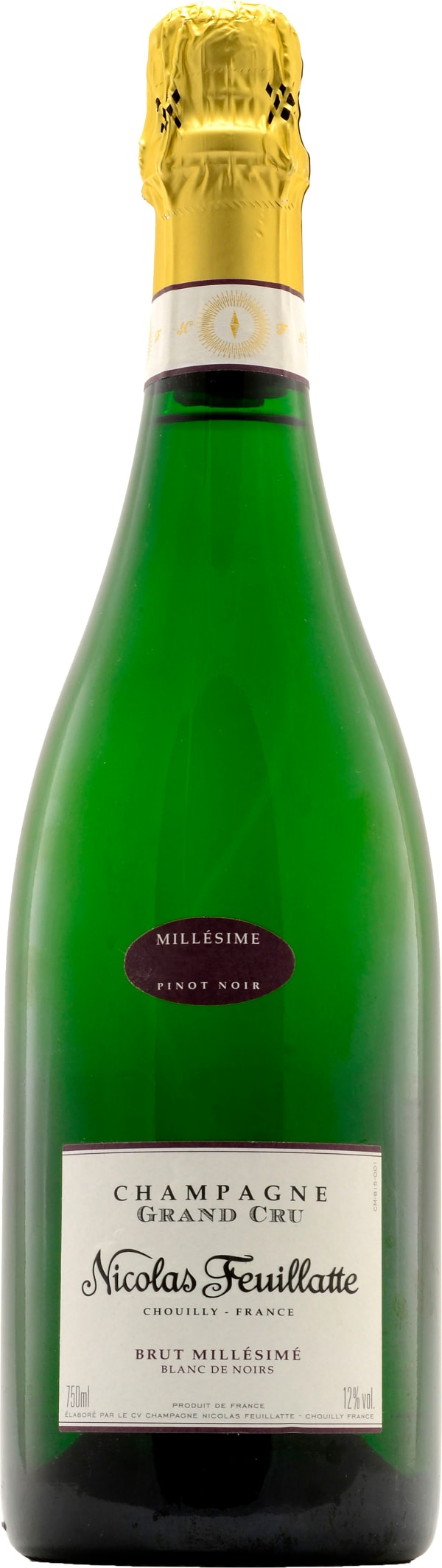 Nicolas Feuillatte Grand Cru Blanc de Noirs Champagne Brut 2008