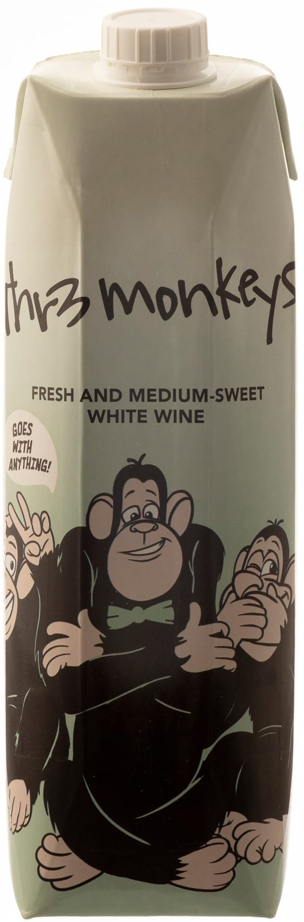 Thr3 Monkeys 2017 carton package
