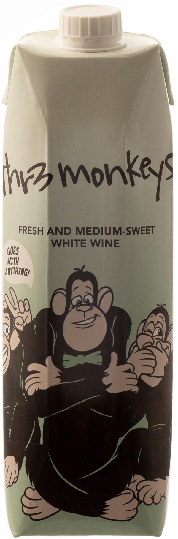 Thr3 Monkeys 2018 carton package