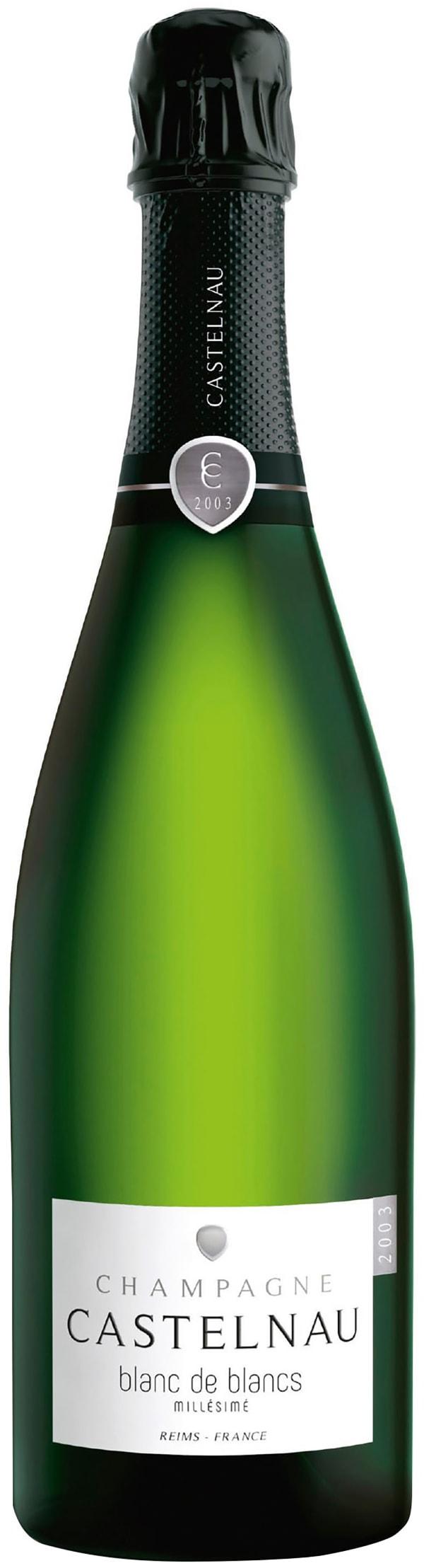 Castelnau Blanc de Blancs Millésimé Champagne Brut 2005