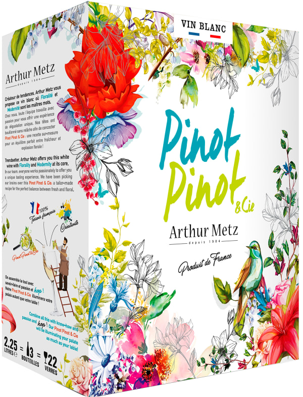 Arthur Metz Pinot Pinot & Cie 2020 lådvin