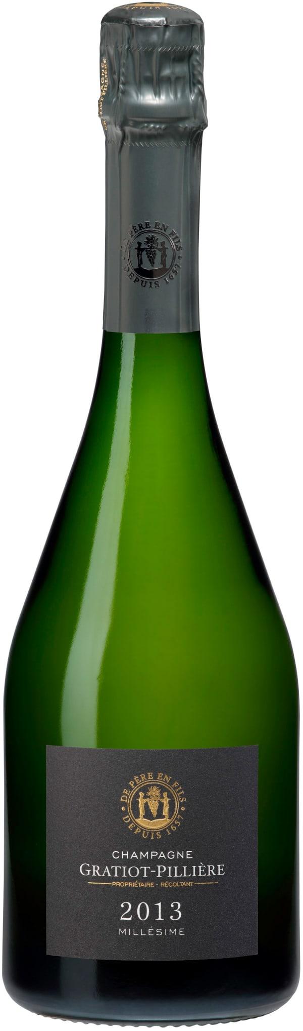 Gratiot Pillière Millésime Champagne Brut 2013