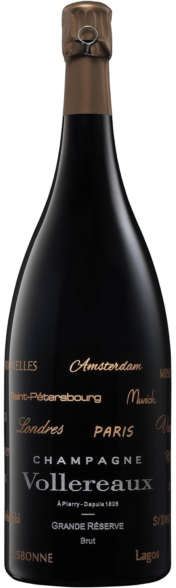 """Vollereaux Grande Réserve Magnum Champagne Brut """"Voyageur"""""""
