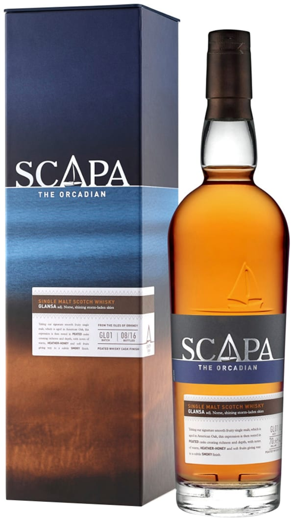 Scapa Glansa The Orcadian Single Malt