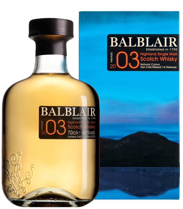 Balblair 2003 Single Malt 2003