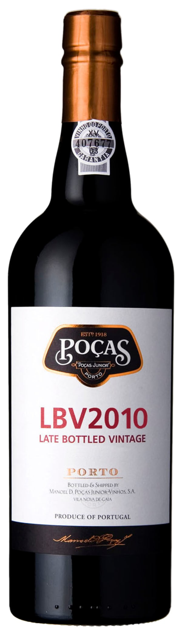Poças Junior Late Bottled Vintage Port 2013