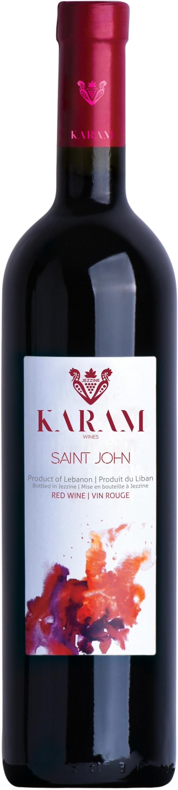 Karam Saint John Rouge 2012