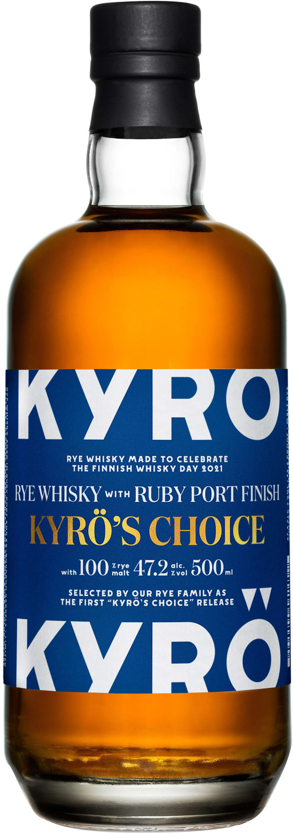 Kyrö's Choice: Rye Whisky with Ruby Port Finish