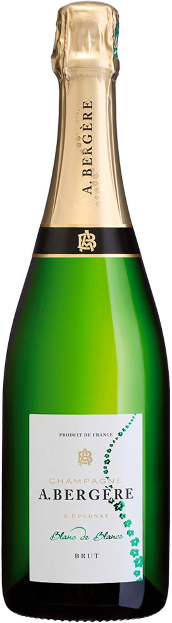 A. Bergere Blanc de Blancs Champagne Brut