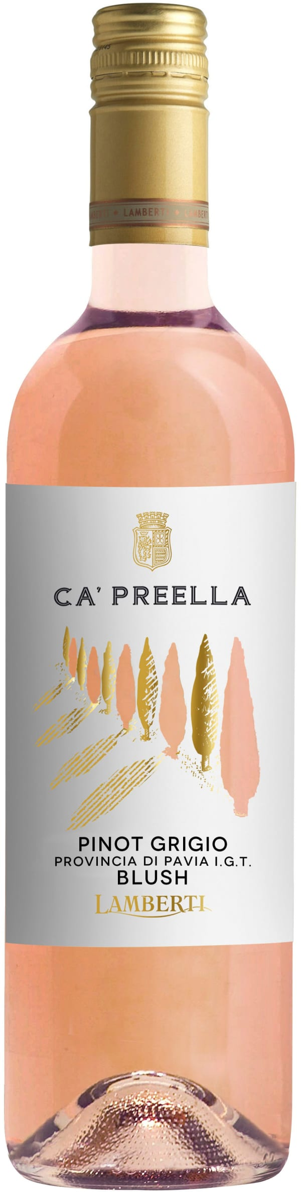 Lamberti Ca' Preella Pinot Grigio Blush 2019