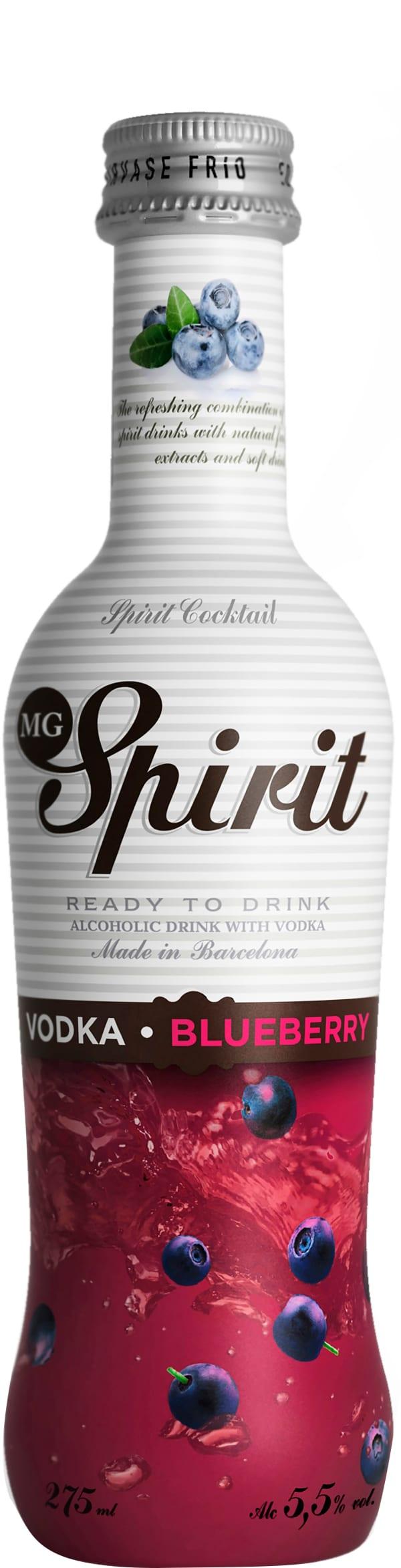 MG Spirit Vodka Blueberry