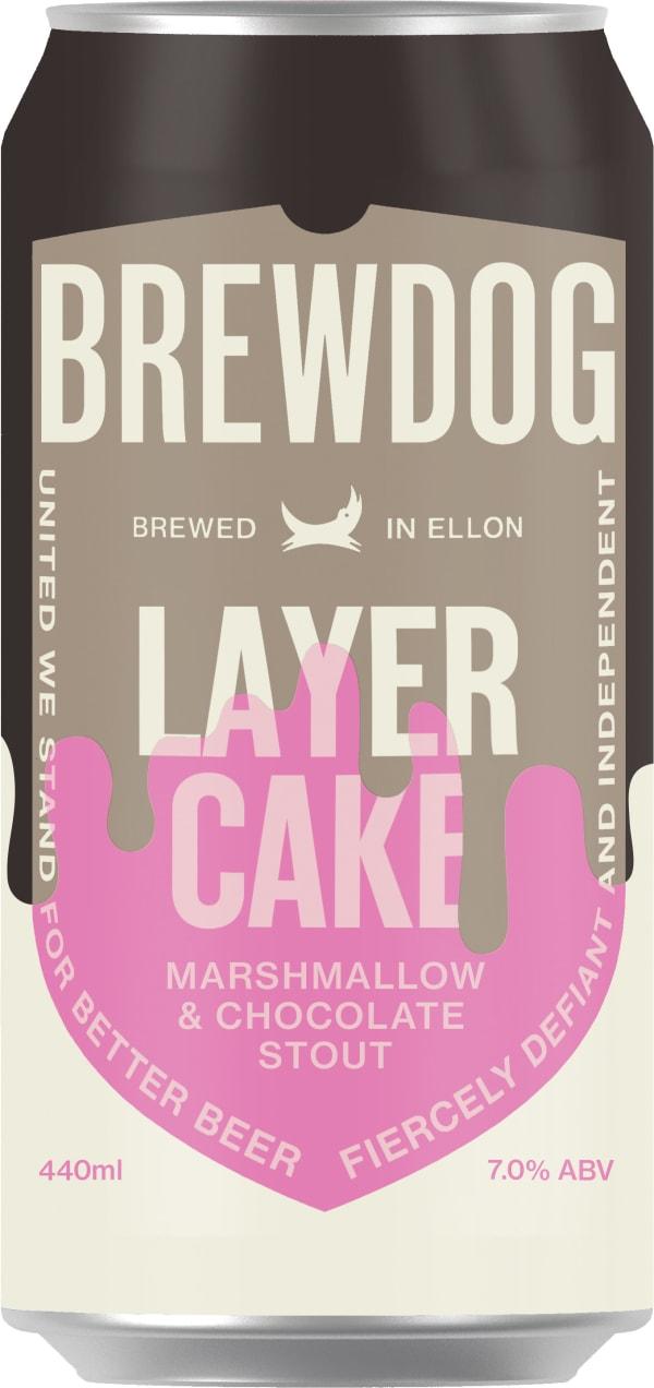 BrewDog Layer Cake Stout can