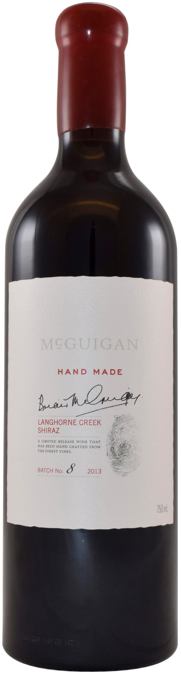 McGuigan Hand Made Shiraz 2013