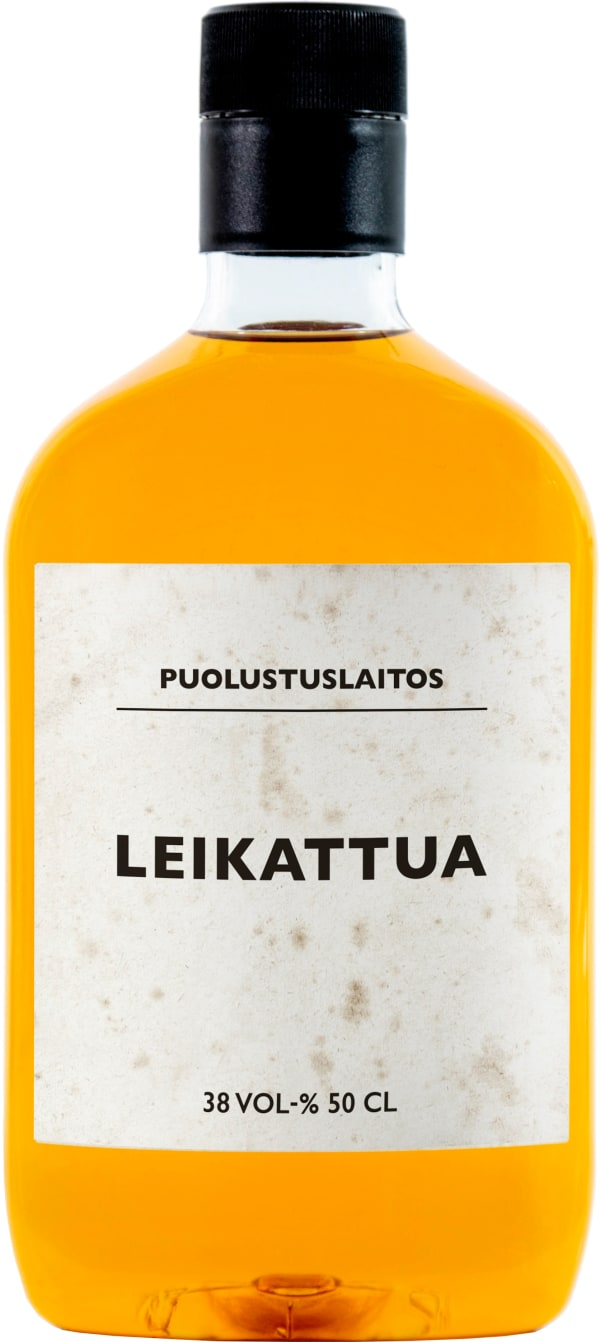 Puolustuslaitos Leikattua plastic bottle