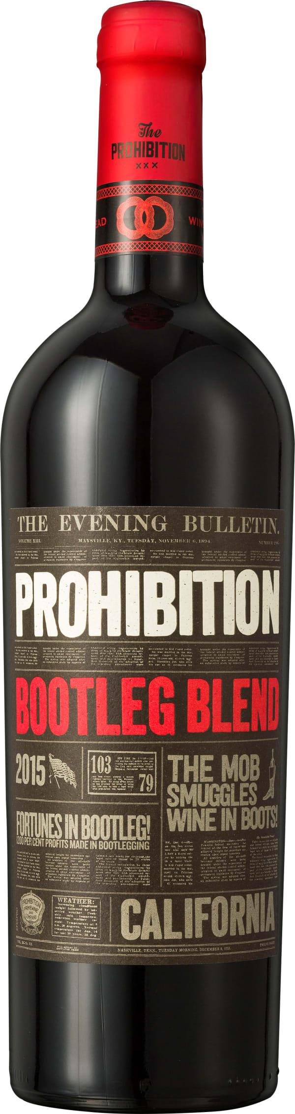 Prohibition Bootleg Blend 2015