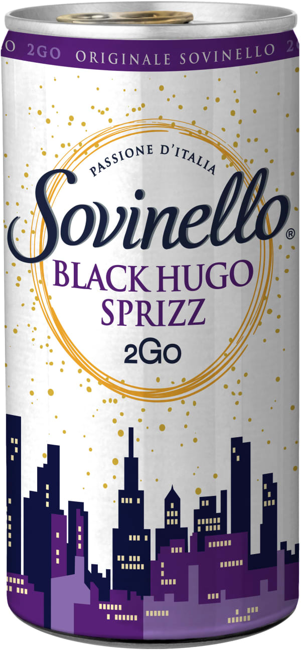 Sovinello Black Hugo Sprizz 2Go can