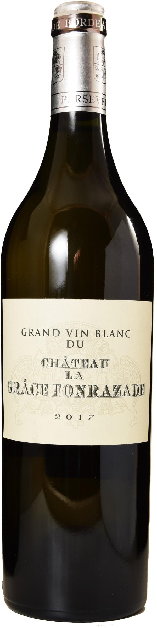 Château La Grace Fonrazade Blanc 2016