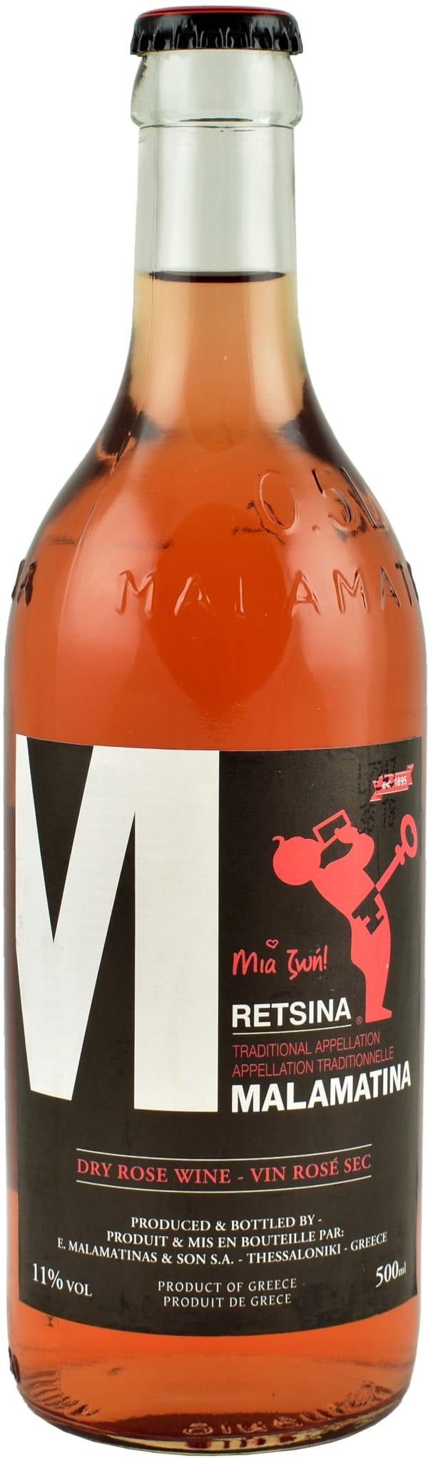 Malamatina Retsina Dry Rose