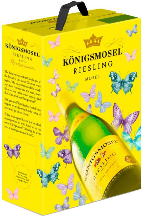 Königsmosel Riesling 2016 hanapakkaus