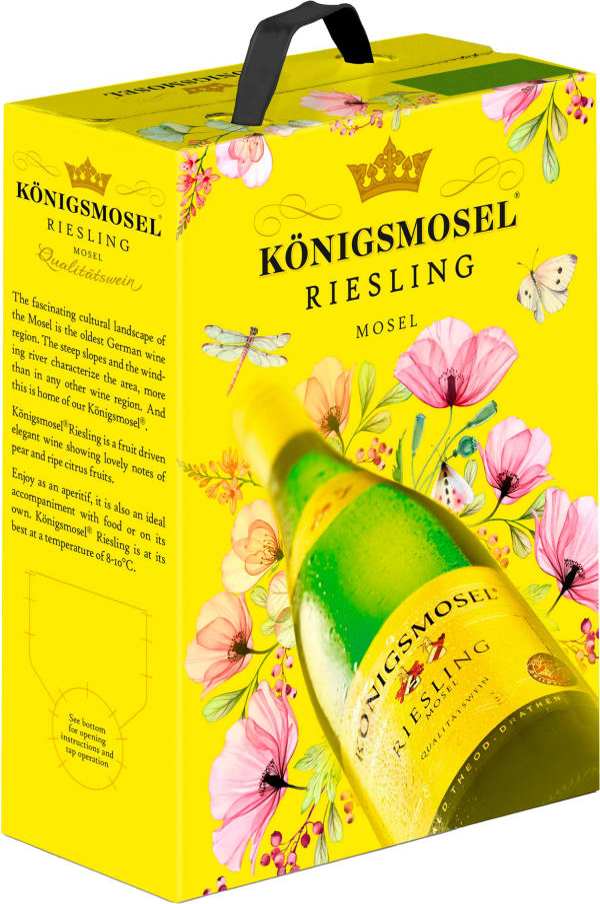 Königsmosel Riesling 2019 bag-in-box