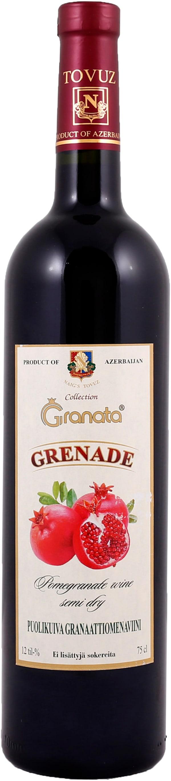 Grenade Wine Semi-Dry Puolikuiva Granaattiomenaviini