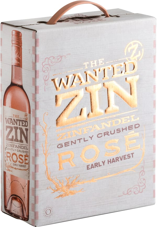 The Wanted Zin Rosé 2018 bag-in-box