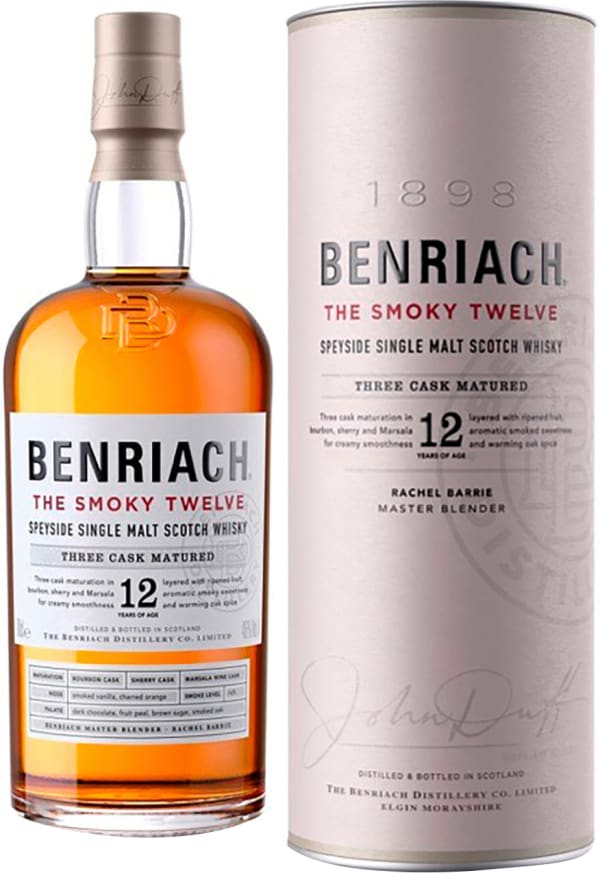The BenRiach 12 Year Old Smoky Twelve Single Malt