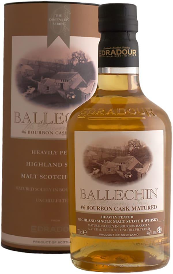 Edradour Ballechin #6 Bourbon Cask Matured Single Malt