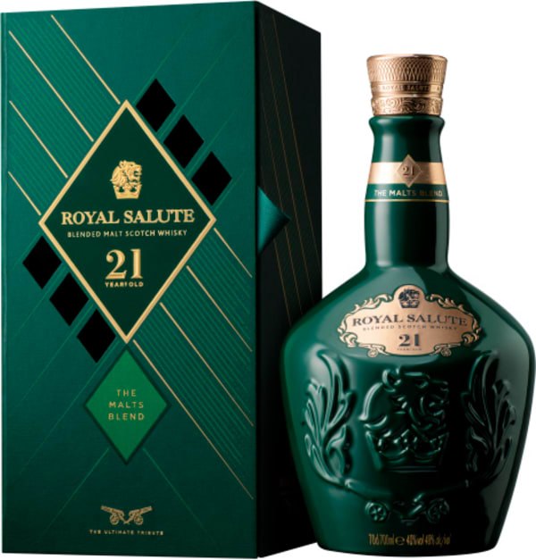 The Royal Salute 21 Year Old Malts Blend