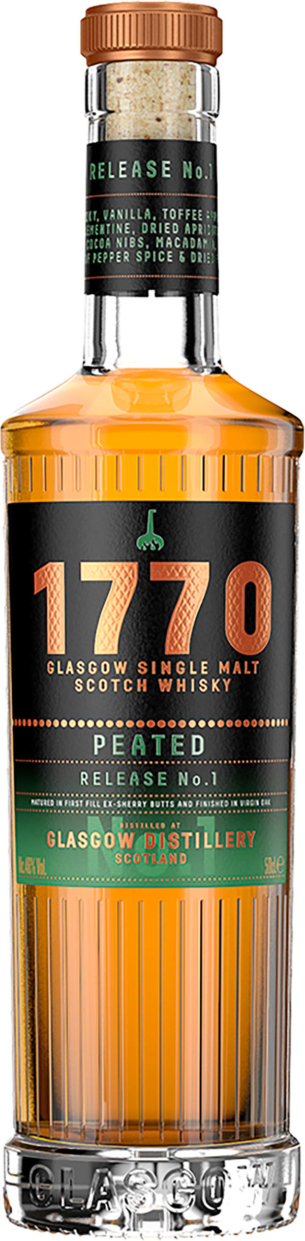1770 Glasgow Peated Release No. 1 Single Malt